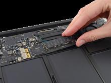 SSD 256Gb Macbook Retina 2015, sua macbook retina hcm