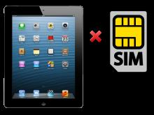 Sửa iPad 2 Không Nhận SIM, Thay Khay SIM iPad 2