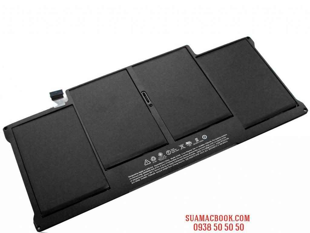 """Thay Pin Macbook Air 13"""" 2014 A1466, A1496, Pin Macbook Air 13, Pin A1496"""