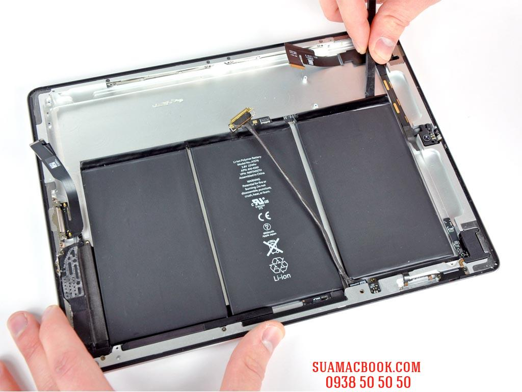 Thay Pin iPad 2, Sửa iPad 2 Tự Tắt Nguồn, Sửa iPad 2 Hư Pin