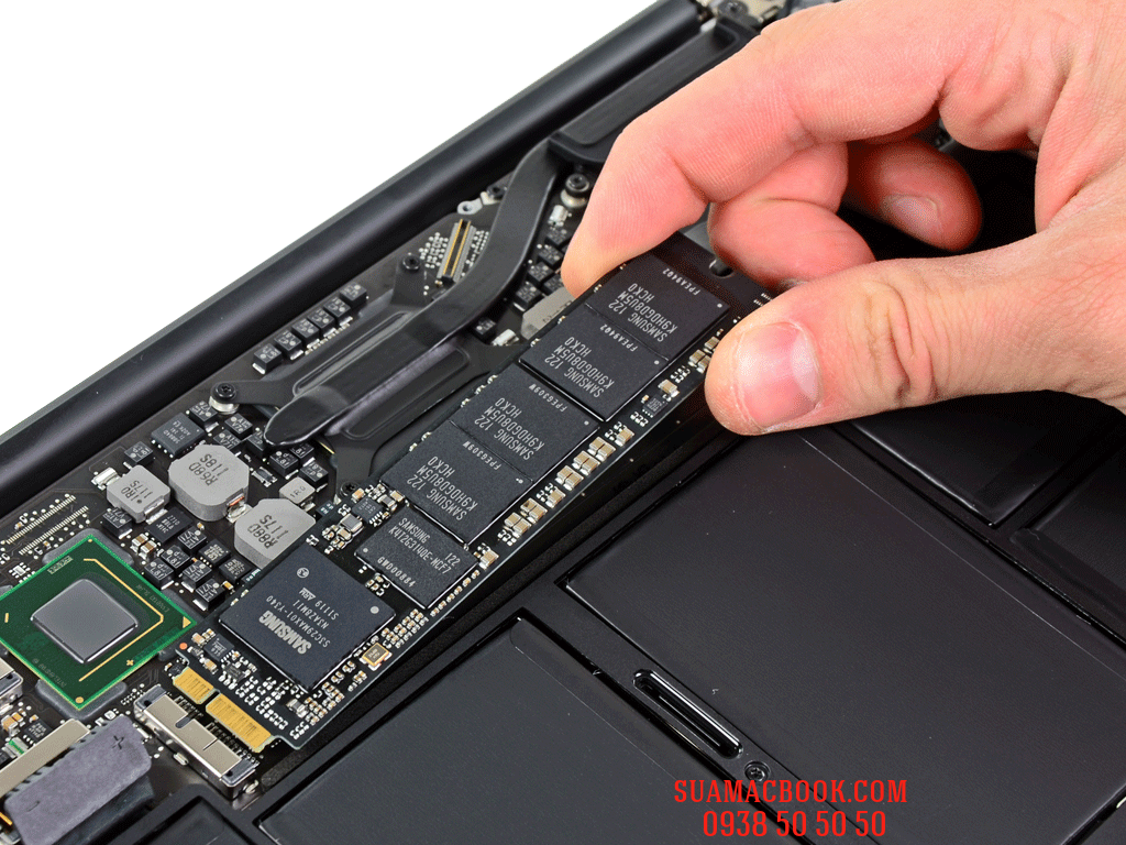 SSD 128Gb Macbook Air 11 inch 2012, SSD Macbook Air, Sửa Macbook Air HCM