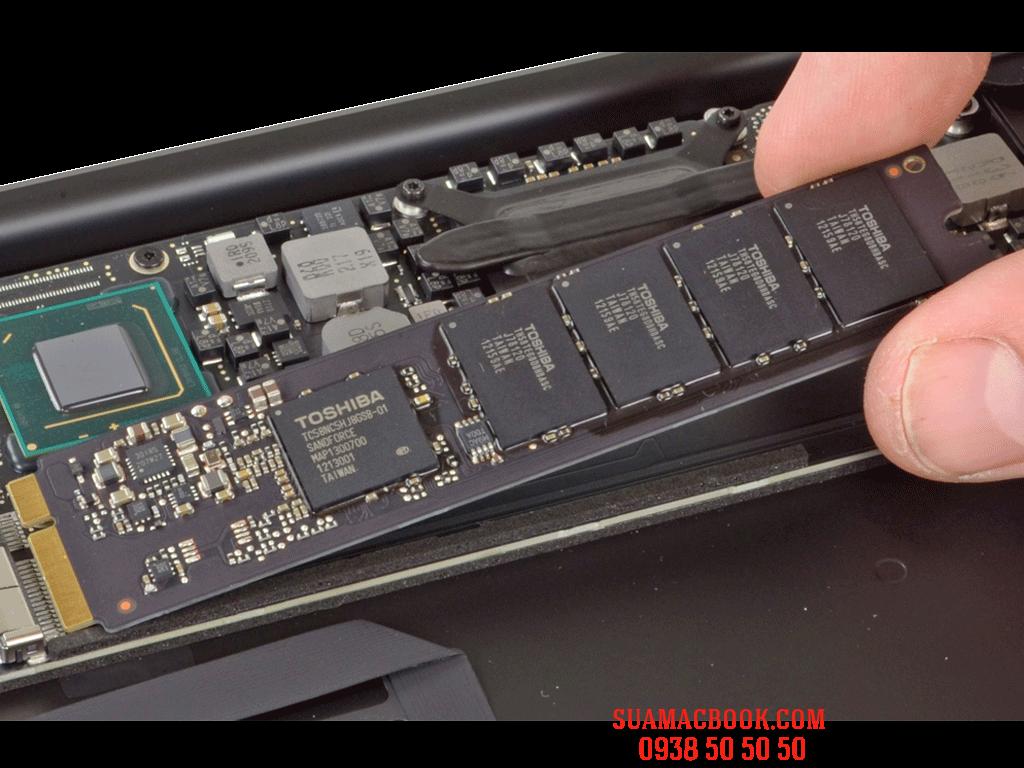 SSD 128Gb Macbook Air 13 inch 2012, SSD Macbook Air 13, Sửa Macbook Air HCM