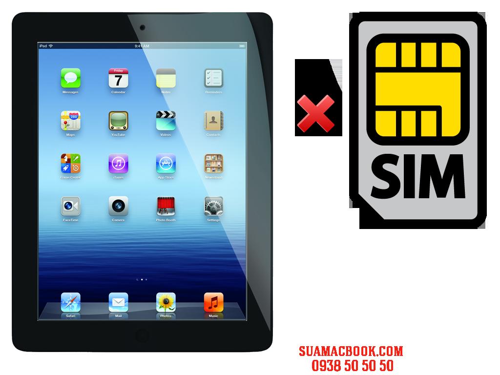Sửa iPad 3 Không Nhận SIM, Thay Khay SIM iPad 3