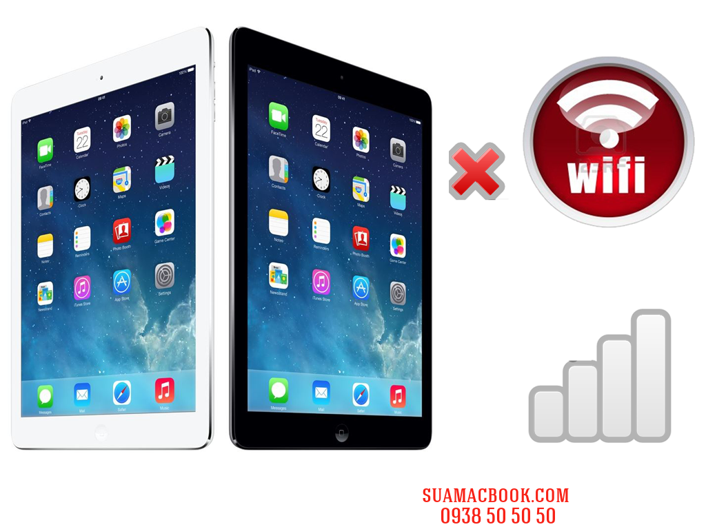 Sửa iPad Air Hư Wifi, Sửa iPad Air Không Nhận Wifi, Sửa iPad Air Không Kết Nối Đ