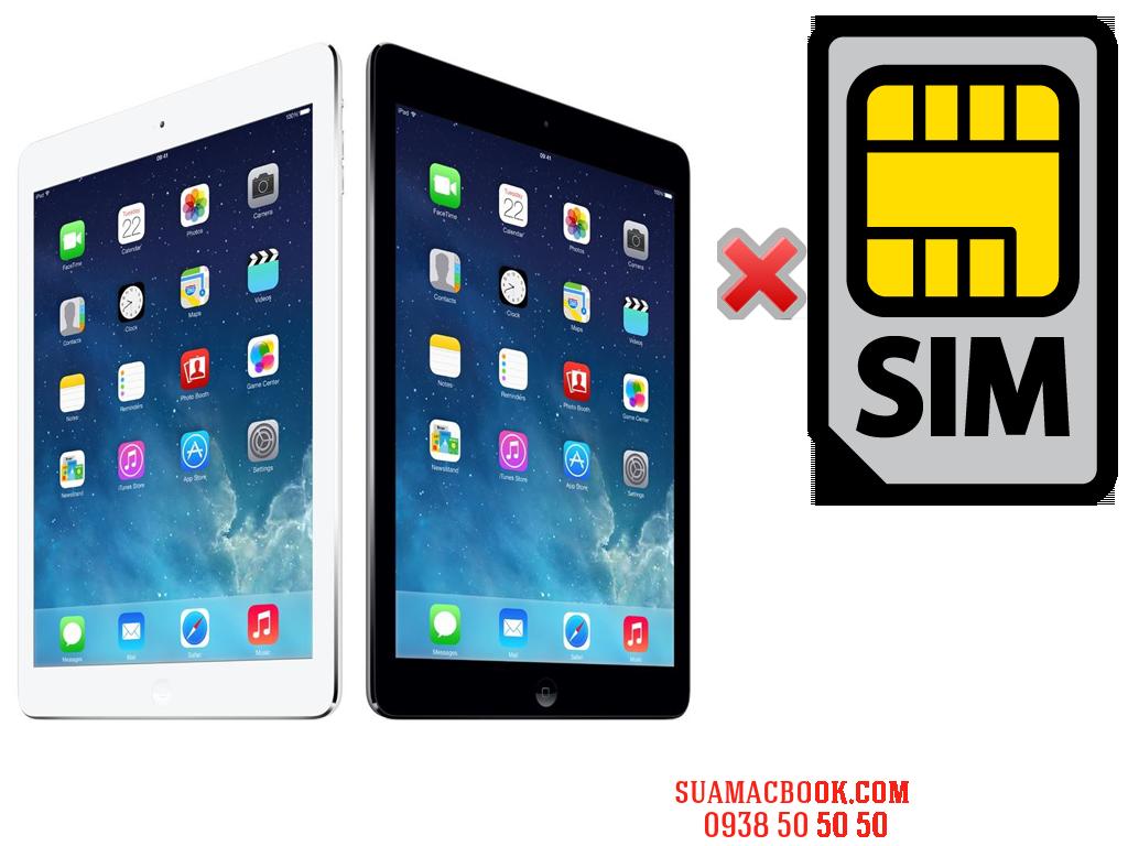 Sửa iPad Air Không Nhận SIM, Thay Khay SIM iPad Air