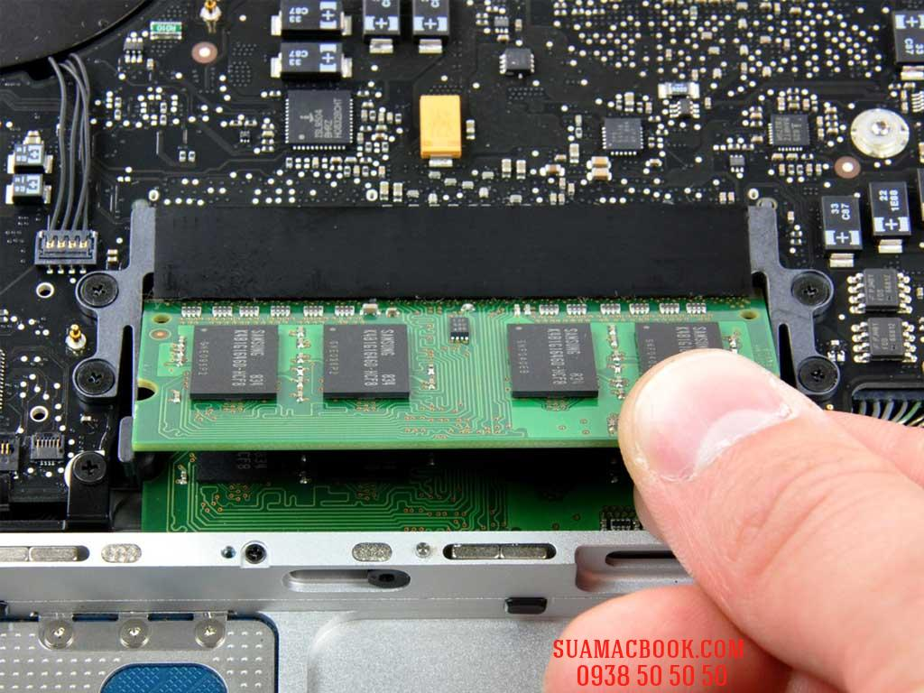 ram macbook, nang cap ram macbook, nâng cấp ram macbook pro, nang ram 8gb macbook