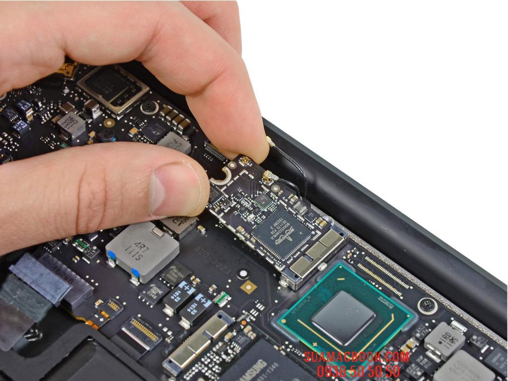 Sửa Macbook Air Không Nhận Card Wifi, Thay Card Wifi Macbook Air, Sửa Macbook Ai